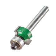 "Trend C074BX1/4TC Guided Rounding Over Cutter 9.5mm Cut - 1/4"" Shank, 18.7mm Dia, 3mm Radius"