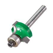 "Trend C075AX1/4TC Guided Rounding Over Cutter 12mm Cut - 1/4"" Shank, 24.7mm Dia, 6mm Radius"