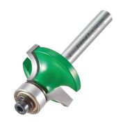 "Trend C077X1/4TC Guided Rounding Over Cutter 12.7mm Cut - 1/4"" Shank, 28.5mm Dia, 7.9mm Radius"