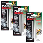 Trend CR/PB/29 Planer Blades Pack of 6 Blades