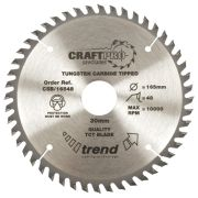 Trend CSB/16048 Craft Saw Blade 160mmx 20mm 48T