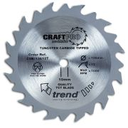 Trend CSB/16524T Craft Saw Blade 165mm x 20mm 24T