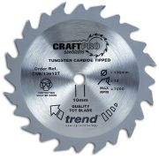 Trend CSB/16540T Craft Saw Blade 165mm x 20mm 40T