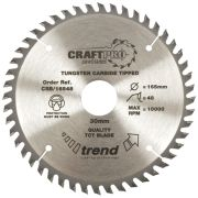 Trend CSB/16548 Craft Saw Blade 165mm x 20mm 48T