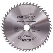 Trend 165mm Circular Saw Blade for