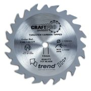 Trend CSB/16552T Craft Saw Blade 165mm x 20mm 52T