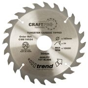 Trend CSB/18024 Craft Saw Blade 18mm x 30mm 24T