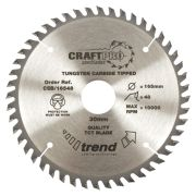 Trend CSB/18040 Craft Saw Blade 180mm x 30mm 40T