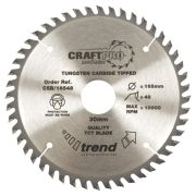 Trend CSB/18440A Craft Saw Blade 184mm x 30mm 40T