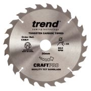 Trend CSB/21524 Craft Saw Blade 215mm x 30mm 24T