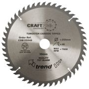 Trend CSB/25048 Craft Saw Blade 250mm x 30mm 48T