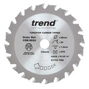 Trend CSB/8520 85mm 20 Tooth Craft Sawblade 10mm Bore