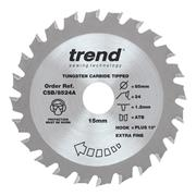 Trend CSB/8524A 85mm 24 Tooth Craft Sawblade 15mm Bore