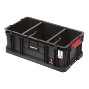 Trend  Trend Modular Storage Compact Tote 200mm c/w Divider