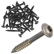 Trend PH/7x30/500 Trend Square Drive Self Tapping Screws for Pocket Hole Jig