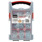 Trend PH/SCW/PK1 Pocket Hole Screw Mixed Pack - 850 Pieces