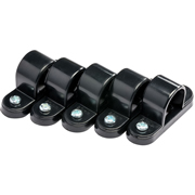 Tower Tower ISM80005 Tower Spacer Bar Saddles 20mm Black - Pack of 5 CP8