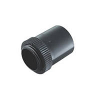 Tower Tower ISM80009 Tower Male Adaptor 20mm Black Pack of 2 CP15