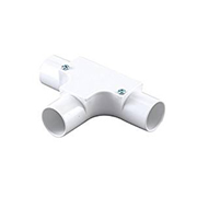 Tower Tower ISM80018 Tower Inspection Tee 20mm White CP12