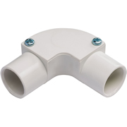 Tower Tower ISM80022 Tower Inspection Elbow 20mm White CP18