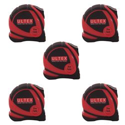 Ultex 20012 Tape Measure 5m/16ft - Pack of 5