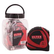 Ultex 20004 Tape Measure 8m/26ft - Pack of 5