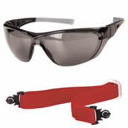 Ultex 250022 ULTEX Illusion Safety Glasses - Smoked
