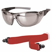Ultex 250032 Illusion Safety Glasses - Mirrored