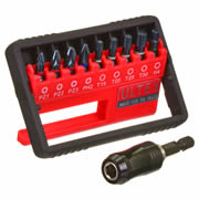 Ultex 300867 Ultex Ultra 10 Piece Double Torsion Impact Screwdriver Mixed Pack