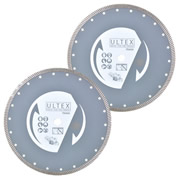 Ultex ULT30201B Ultex 230mm Trade Turbo Diamond Blade Twinpack