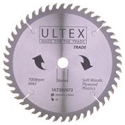 Ultex 184mm 48 Tooth TCT Trade Blade