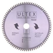 Ultex 302242 Ultex 260mm 80 Tooth TCT Trade Blade