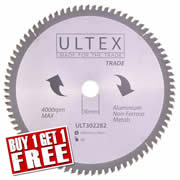 Ultex 302282 Ultex 305mm 80 Tooth TCT Trade Blade (Aluminium Cutting)