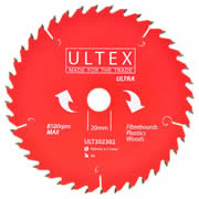 Ultex 302302 Ultex 165mm 40 Tooth TCT Ultra Blade