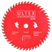 Ultex 302312 Ultex 184mm 48 Tooth TCT Ultra Blade