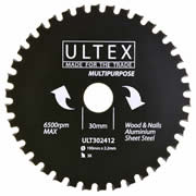 Ultex 302412 Ultex 190mm 38 Tooth TCT Multi-Purpose Blade