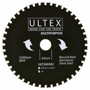 Ultex 302432 Ultex 230mm 44 Tooth TCT Multi-Purpose Blade
