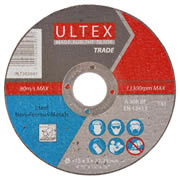 Ultex 302601 Ultex 115mm Abrasive Trade Cutting Discs