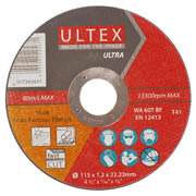 Ultex 302651 Ultex 115mm Ultra Thin Cutting Discs