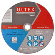 Ultex 302751 Ultex 230mm Trade Cutting Discs