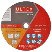 Ultex 302801 Ultex 230mm Ultra Thin Cutting Discs