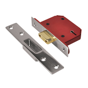Union J2100S-SC-2.5 Union Strongbolt BS 5 Lever Deadlock 2.5'' - Stainless Steel