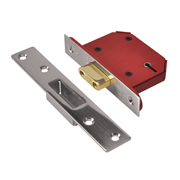 Union J2105S-SS-2.5 Union Strongbolt 5 Lever Deadlock 2.5'' - Stainless Steel