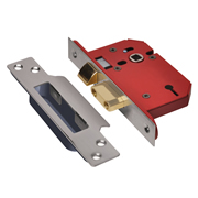 Union J2203S-SS-3.0 Union 3 Lever Union Strongbolt Sashlock 3'' - Stainless Steel