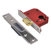 Union JL21EUS-SS-3.0 Union Strongbolt Euro Profile Dead Lock 3'' - Stainless Steel