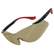 Univet 507BROWN Univet Sun Lense Safety Glasses Red/Brown