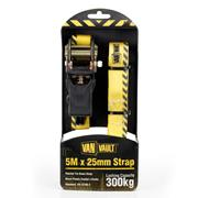 Van Vault S10673 5m x 25mm Ratchet Strap