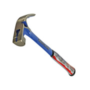 Vaughan  Vaughan V4 Curved Claw Nail Hammer All Steel Plain Face 540g (19oz)