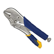 Irwin T01T IRWIN Vise Grip Fast Release Straight Jaw Locking Pliers 10R 250mm/10""