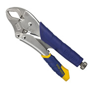 Irwin T11T IRWIN Vise Grip Fast Release Curved Jaw Locking Pliers 10CR 250mm/10''